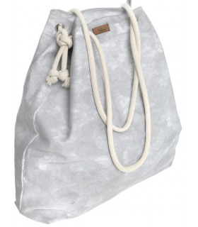 Basic me 15 fabric handbag - gray cloud
