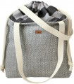 "Basic me 19 ""Duo stripes"" bag with ashy stripes"