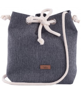 Small basic fabric handbag ash