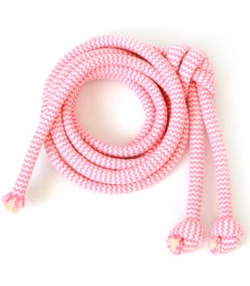 Cotton pink string ZIG-ZAG