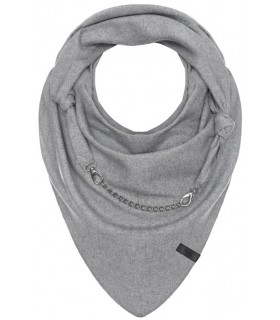 Scarf with decorative chain