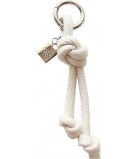 Key ring in cream