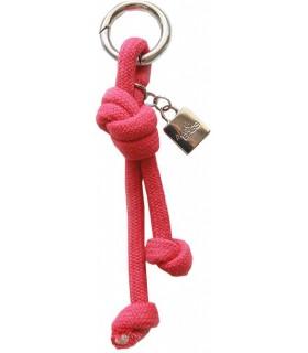 Key ring in red
