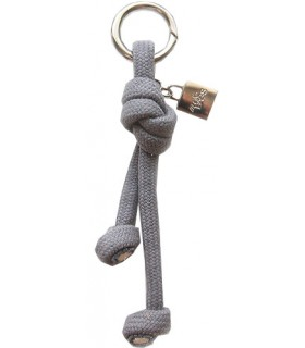 Key ring in gray