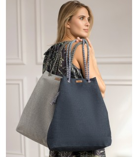 SACK BAG ME 15 FABRIC navy blue