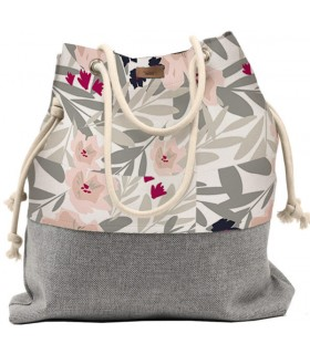 Basic me 15 fabric handbag - flowers