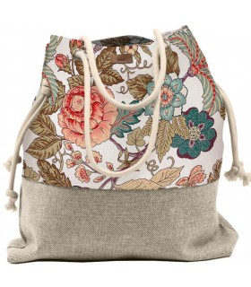 SACK BAG ME 15 TRAVELLER romantic roses