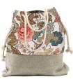 Basic me 15 fabric handbag - romantic roses