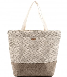 Shopper me 18 bag beige-cream