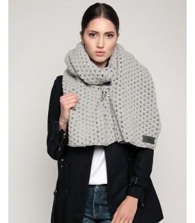 woolen scarf gray